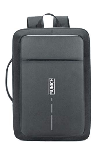 Munich Tech/Business Mochila Tipo Casual, 44 cm, 23 litros, Negro