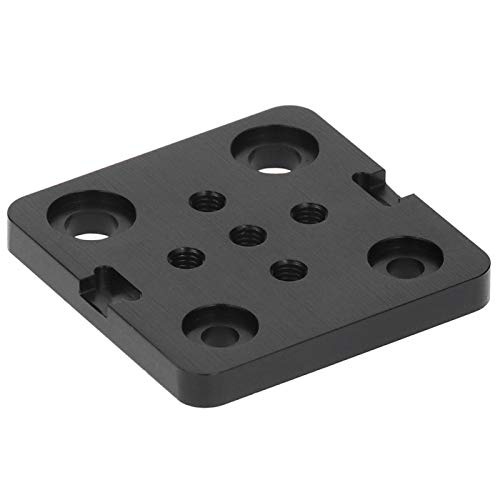 Aoutecen Mini V Wheel Mounting Plate V Wheel Mounting Plate Engraving Machine CNC Accessories 3D Printer Mini V Wheel Construction Board Fit for Openbuilds 3D Printer