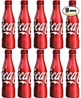 Coca-Cola, Coke Classic, 8.5oz Aluminum Bottle (Pack of 10, Total of 85 oz)