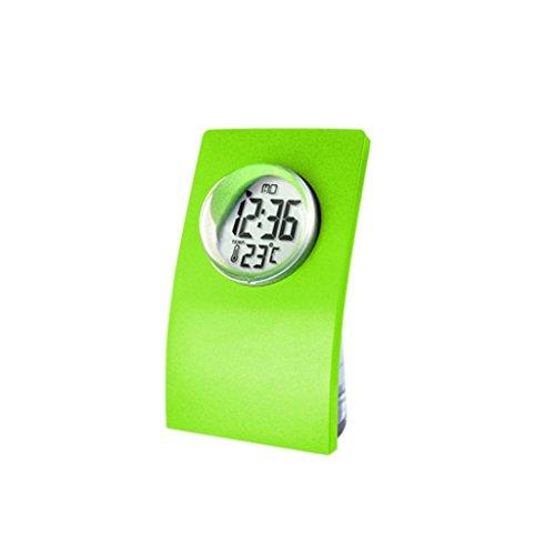 Sharplace NEU Flasche -Design Wasserbetriebene Uhr Tischuhr, Eco-Friendly Clock - Grün