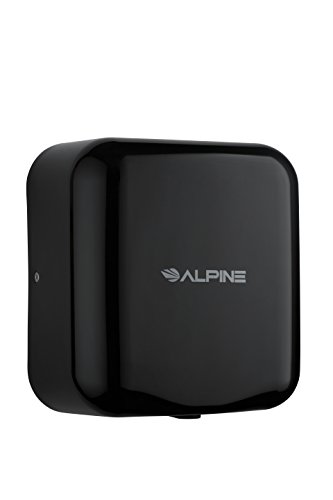 Alpine Hemlock Automatic High Speed Hand Dryer - Heavy Duty Stainless Steel - Commercial High Speed Hot Air Hand Blower | 1800Watts | 110-120Volts | Quick & Easy Installation