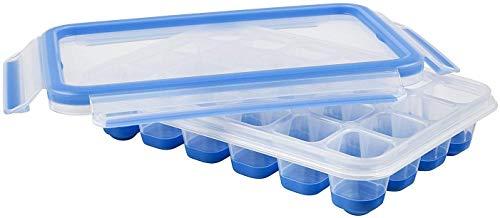 Emsa 514549 Clip & Close Eiswürfelbox mit Deckel