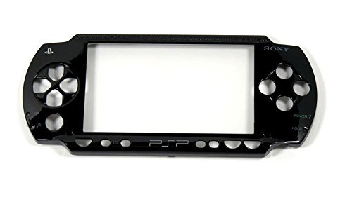 For PSP 1001 PSP 1000 Black Faceplate Front Cover Case Replacement Shell