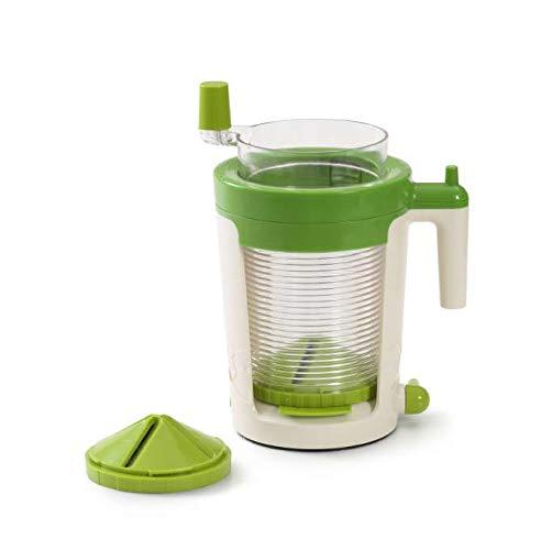 Betty Bossi Maxi Spiralizer – Gemüse Spiralschneider zum Schneiden von Gemüse und Früchten – komfortabler Gemüse Twister – High-End-Version der Spiralschneider