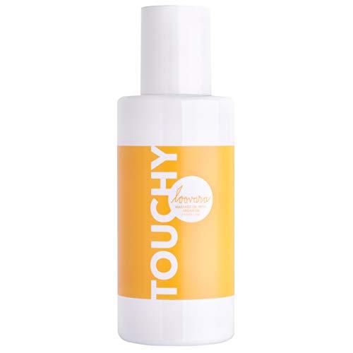 Loovara TOUCHY – Aceite para masajes eróticos (100 ml) | Con aceite de argán de primera calidad | Nutre y enriquece la piel | Preliminares y masaje afrodisíaco en pareja