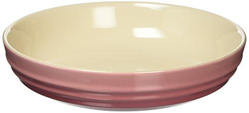 ル・クルーゼ(Le Creuset) 深皿 ラウンド・ディッシュ 20 cm ローズクォーツ 耐熱 耐冷 電子レンジ オーブン 対応 【日本正規販売品】