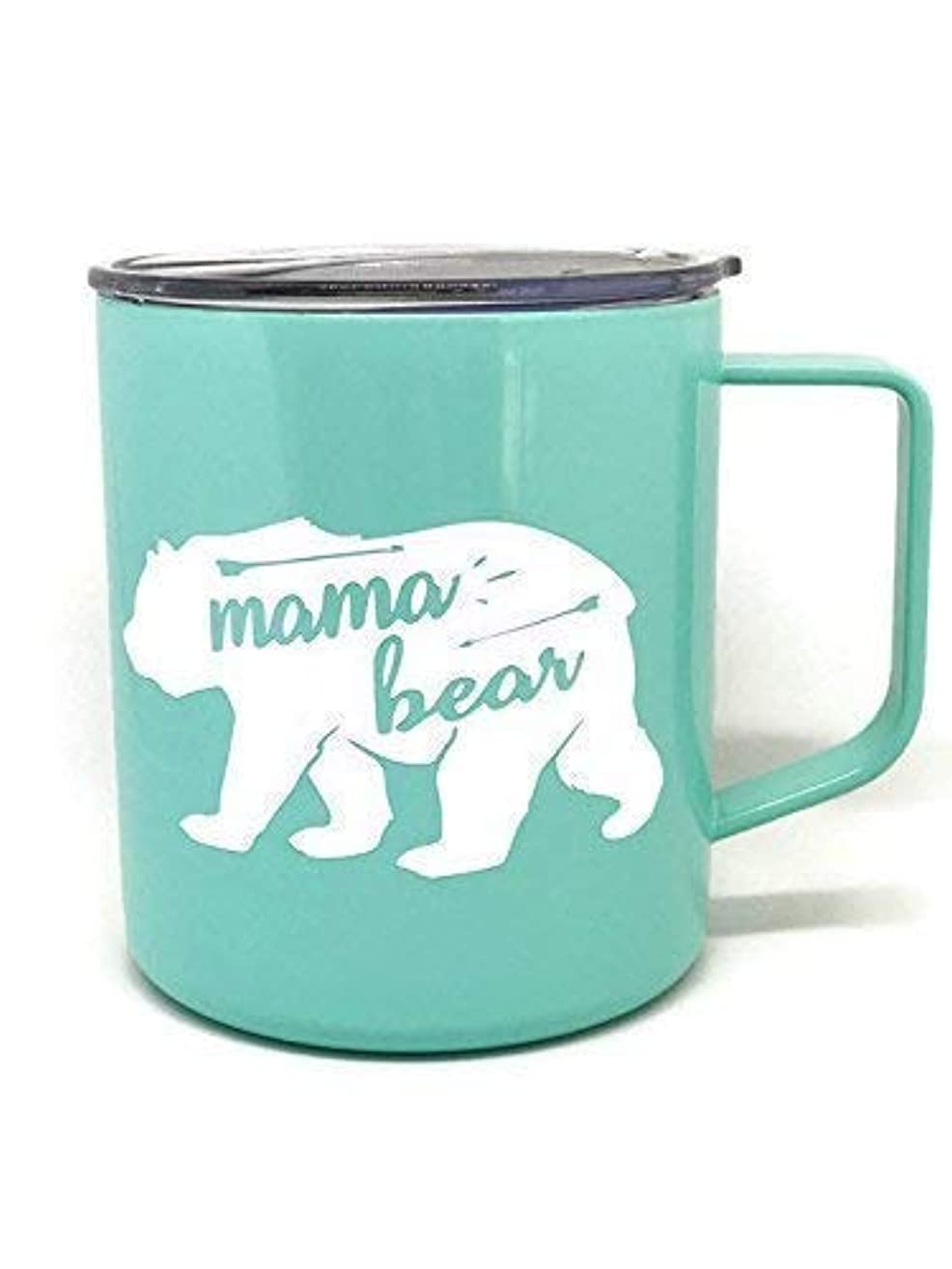 Mama Bear Mint Green Coffee Mug Perfect Addition for any Mom at Home in the Trailer or On The Go
