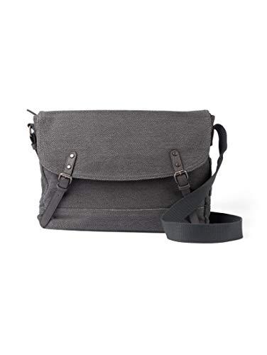 TOM TAILOR Herren Taschen & Geldbörsen Messenger Bag Max Dark Grey,OneSize