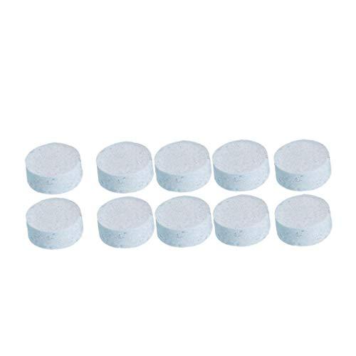 Yililay Tabletas Limpia, 10pcs Útiles de Limpieza multifunción Limpia Comprimidos efervescentes Pastillas...