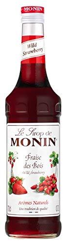 Monin Wild Strawberry Syrup 70cl