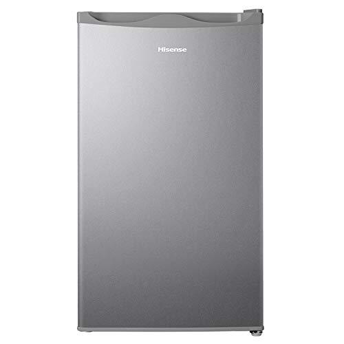 Hisense 93 L 1 Star Direct-Cool Single Door Mini Refrigerator (RR120D4ASB1, Silver)