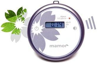 【日本上陸!!キャンペーン価格】ガイガーカウンター 最小モデル 個人用放射線測定器 mamor(マモー)