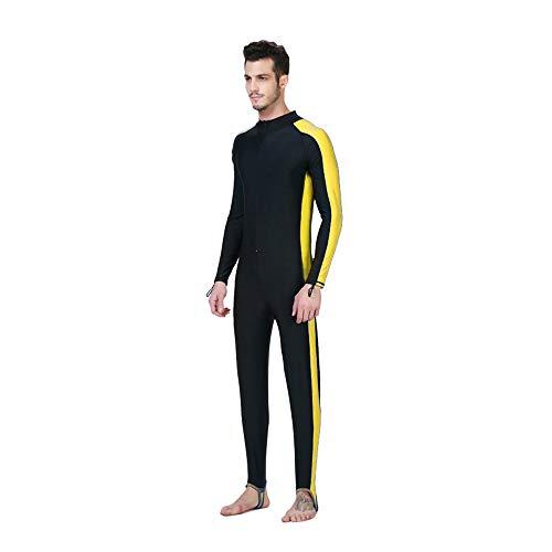 Buy-To Snorkelpak voor heren, neopreen pak, full-body badpak, zonnebescherming, zwempak