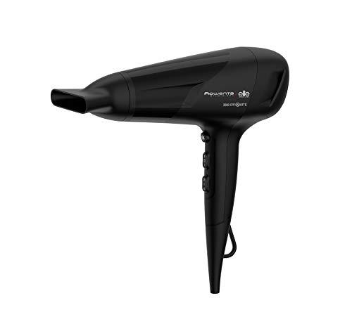 Rowenta Studio Dry CV5812 Secador de pelo con tecnología Effiwatts de ahorro de energía, 6 ajustes de velocidad/temperatura, Termocontrol, boquilla concentradora de 14 mm y golpe de aire frío
