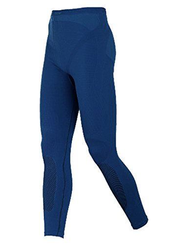 Odlo Evolution Warm SMU Pantalon pour Homme L Estate Blue - Black