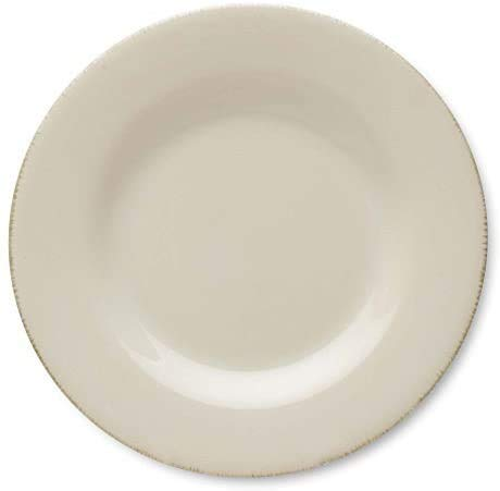 TAG Sonoma Ironstone 16-Piece Dinnerware Dish Set | Dinnerware Includes:4 Dinner Plates, 4 Salad Plates, 4 Bowls and 4 Mugs Dinnerware Ivory