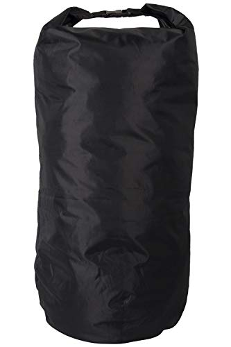 Mountain Warehouse Large Dry Pack Liner - 80L, Waterproof Bag - Ideal For Use Inside A Backpack Black