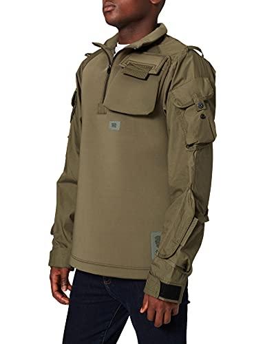 G-STAR RAW Męska bluza neoprenowa, zielona (Combat C875-723), XS
