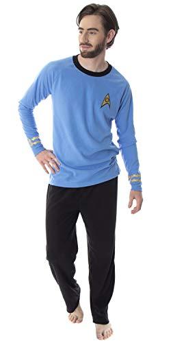 Star Trek Original Series Men's Commander Spock Uniform Costume Sleepwear Pajama Set (Medium) -  Intimo, STK0004RGPM-MD