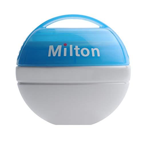 Milton Mini Portable ANNEAU DENTAIRE tétine tétine Stérilisateur & comprimés 10pk - bleu + 50tablets