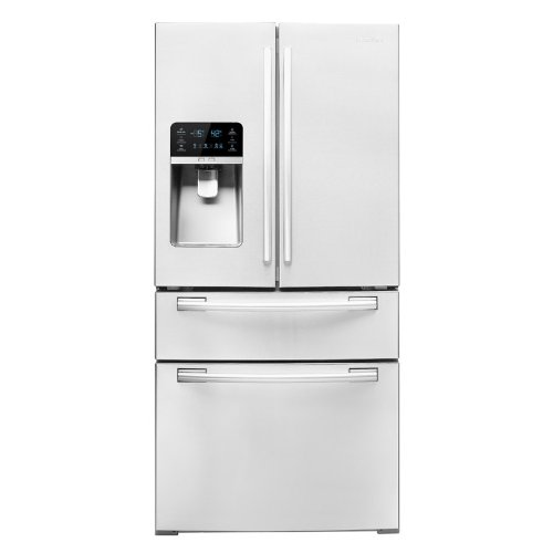 Samsung RF4267HAWP French Door Refrigerator with FlexZone Drawer, 26 Cubic Feet, White