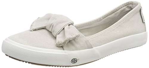 Dockers by Gerli Women's Ballet Flats, Grey Hellgrau 210, 6.5 UK