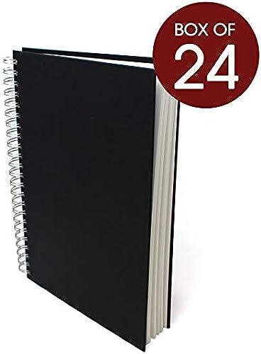 Artway STUDIO - Skizzenbücher mit Spiralbindung - 96 Seiten schweres 170 g m2 Papier - A4 -  handelspackung - 24 Stück
