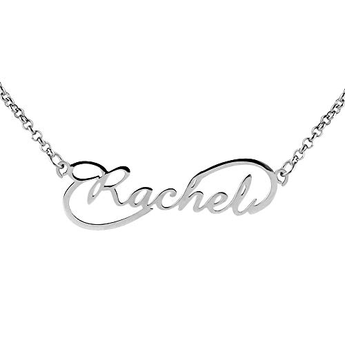 Stainless Steel Silver Gold Black Rose Gold Color Baby Name Vita Engraved Personalized Gifts For Son Daughter Boyfriend Girlfriend Initial Customizable Pendant Necklace Dog Tags 24 Ball Chain