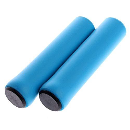 Cinta para manillar de bicicleta, 1 par de manijas antideslizantes de silicona para bicicleta, mango de bicicleta MTB, mango de silicona suave ultraligero (color: 06)