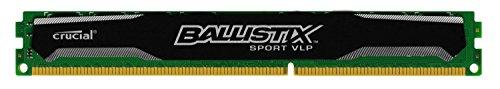 Crucial BLS8G3D1609ES2LX0CEU Arbeitsspeicher 8GB (1600MHz, 8GB, CL9) DDR3-RAM