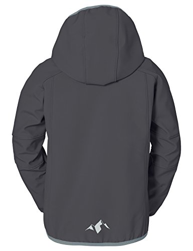 VAUDE Rondane Jacket II, Giacca Ragazzo, Nero, 110/116