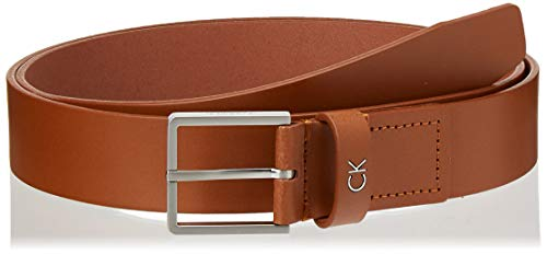 Calvin Klein Herren FORMAL Belt 3.5CM Gürtel, Braun (Cognac 223), 674 (Herstellergröße: 90)