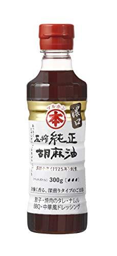 マルホン 圧搾純正胡麻油濃口ペット 300g