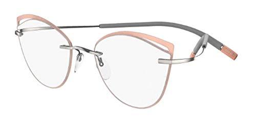 Occhiali da vista Silhouette TMA ICON ACCENT RINGS 5518/FU Salmon Ring 54/17/0 donna