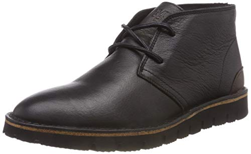 Marc O'Polo Herren Chukka Boots, Schwarz (Black 990), 45 EU