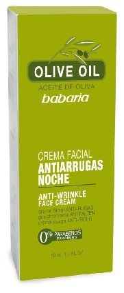 Babaria Olive Oil Anti Wrinkle Night Face Cream 50ml by Babaria