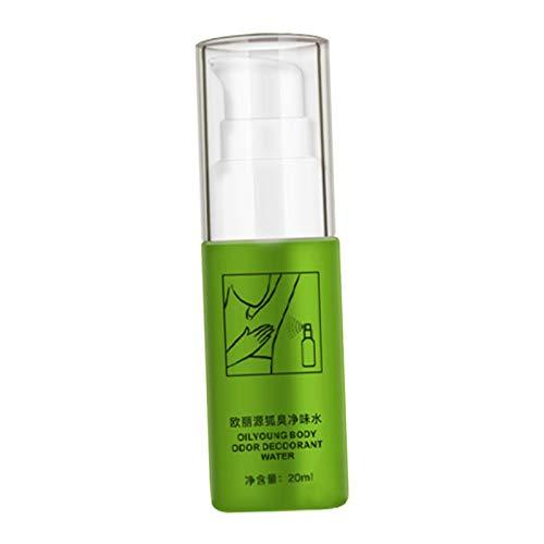 MERIGLARE Verano Olor Corporal Desodorante Agua en Aerosol Antebrazo Sudor Desodorante Olor