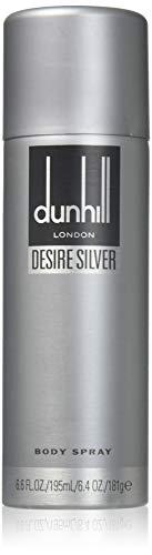 Alfred Dunhill Desire plata Body Spray para Él, 195ml