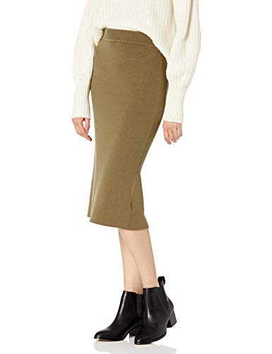 The Drop Women's Iris Pull-On Midi Sweater Pencil Skirt,...