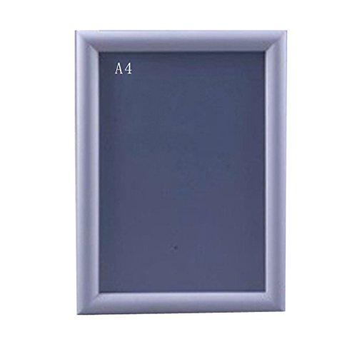 10 Stück DIN A4 Aluminium KLAPPRAHMEN Plakatrahmen Wechselrahmen 25mm Profil Ecken auf Gehrung