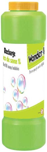 WDK Partner - A1300494 - Jeu de Plein Air - Recharge bulles de savon - 1L - Coloris aléatoire