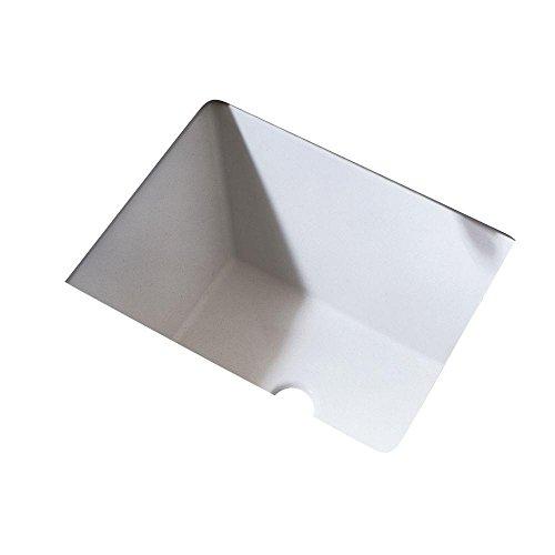 American Standard 610000.020 Boulevard Ceramic undermount Rectangular Bathroom sink, 20.25'' L x 16'' W x 8'' H, White