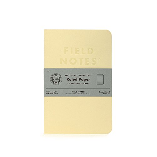 Field Notes Signature Notebook Ruled