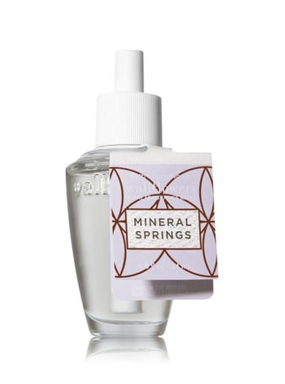 フレアである美しい【Bath&Body Works/バス&ボディワークス】 ルームフレグランス 詰替えリフィル ミネラルスプリングス Wallflowers Home Fragrance Refill Mineral Springs [並行輸入品]