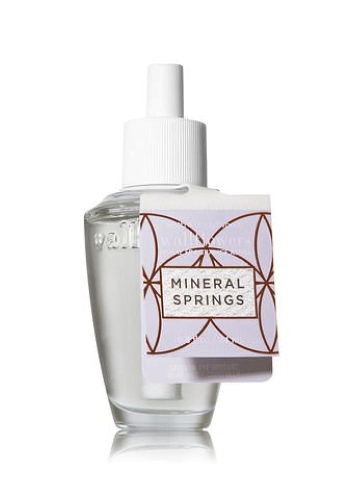 ダイエット叫ぶ設計図【Bath&Body Works/バス&ボディワークス】 ルームフレグランス 詰替えリフィル ミネラルスプリングス Wallflowers Home Fragrance Refill Mineral Springs [並行輸入品]