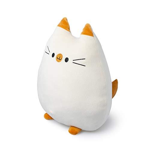 BalviCojínSweet KittyColorBlancoFormadeGatoSuaveyMuyBlandoPoliéster