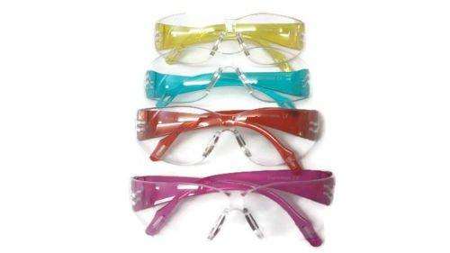 SPORTS WORLD VISION Occhiali Protettivi per Bambini Materiale Policarbonato Colore Blu