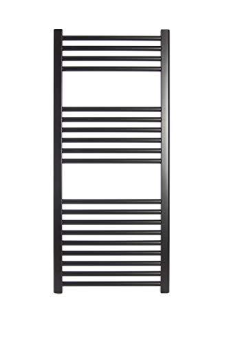Radiador Toallero de Agua Ocean Negro 1120x500