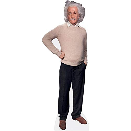 Celebrity Cutouts Albert Einstein Pappaufsteller lebensgross