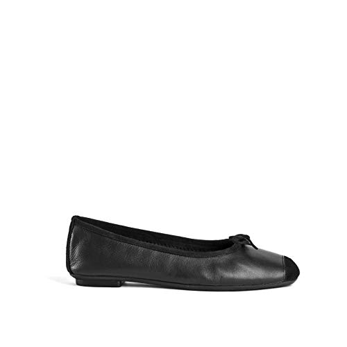 Reqins, chaussures femme, Harmony Cuir/Peau TT 00055-8D, Noir, 41